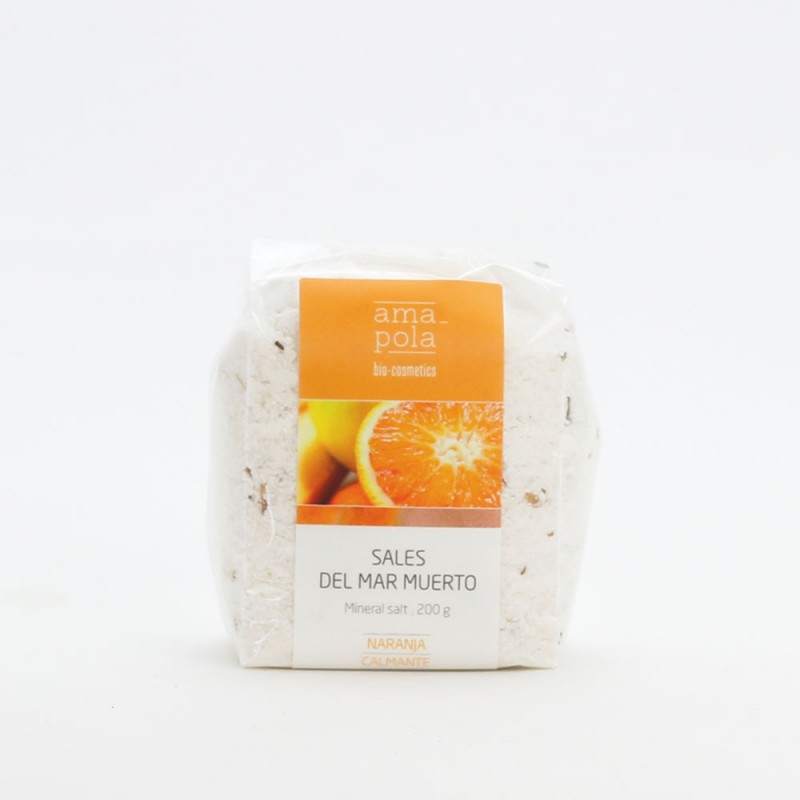 Sales del Mar Muerto de Naranja