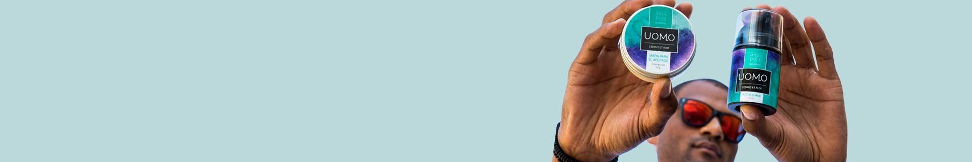 Cuidado facial del hombre - Evita piel reseca e irritada - Amapola Bio