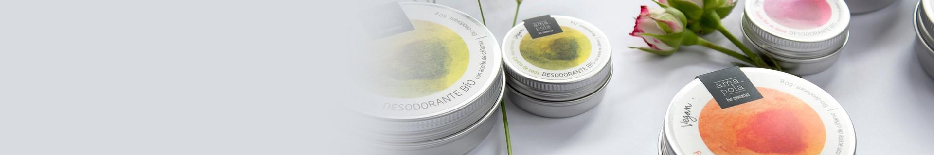 Desodorantes Amapola Biocosmetics - Desodorantes Ecológicos