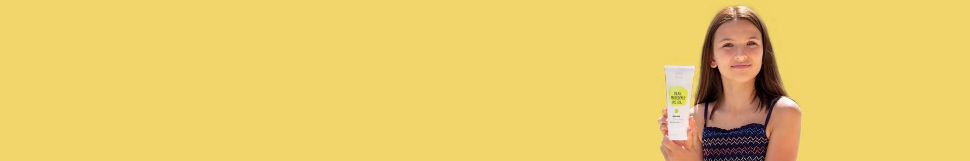 Crème solaire naturelle pour le corps - Protection solaire sans filtres chimiques
