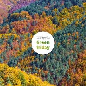 🌿CONSUME ECOLÓGICO, CONSUME CONSCIENTE.🌍 En Amapola volvemos a proponerte un Green Friday en el que donamos un 15% de nuestras ventas del 25 al 29 de Noviembre a la asociación Bosques Sostenibles que cada año planta más de 550.000 árboles en España. Consume ecológico y tendrás tu recompensa en Amapola.   #amapolabio #bosquessostenibles #greenfriday #blackfridayeco #cosumeconsciente