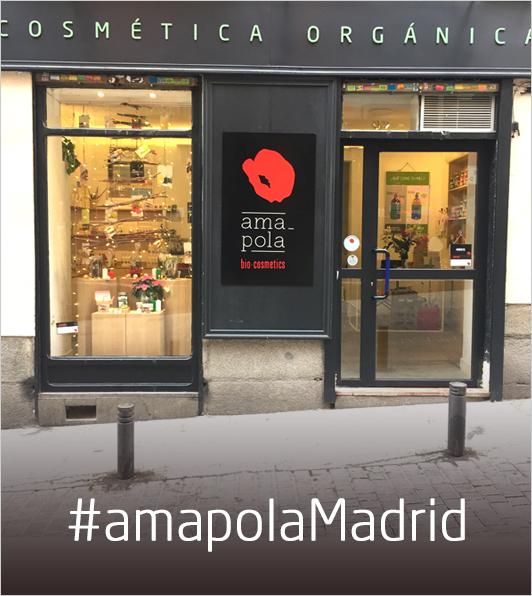 Tiendas Cosmetica Ecológica  Madrid · Barcelona · Segovia   Amapola Bio bf839de9766