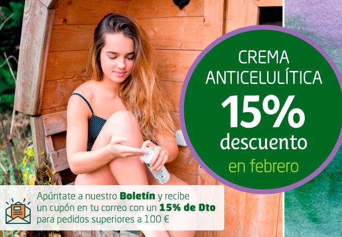 Promoción Crema Anticelulitica