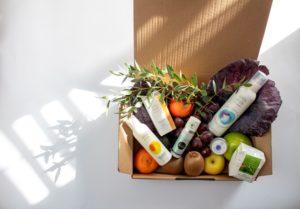 Caja envio de fruta
