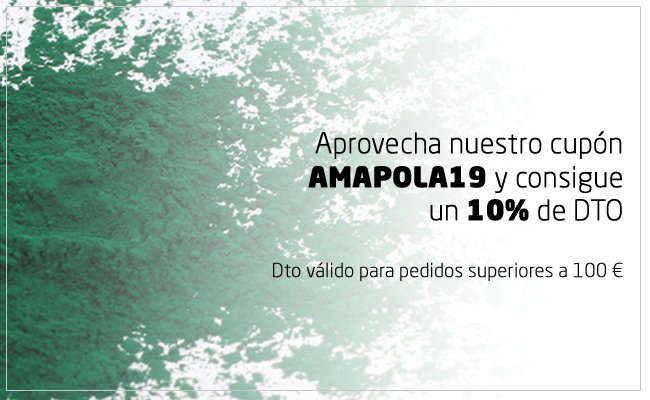 Cupón DTO. Amapola