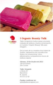 Invitación - Amapola Biocosmetics - Cosmética Natural