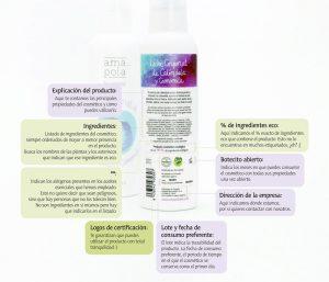 Leer Etiquetas - Amapola Biocosmetics - Cosmética Natural