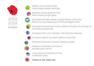 Decalogo - Amapola Biocosmetics - Cosmética Natural