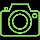 Camara de fotos icono AmapolaBio