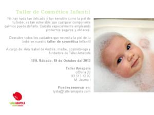 Taller Infantil - Amapola Biocosmetics